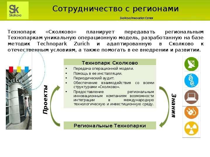 Сотрудничество с регионами