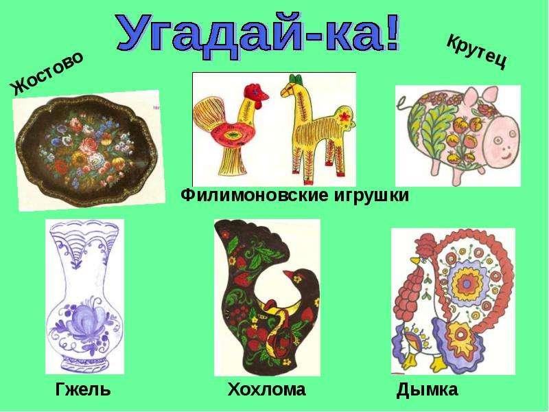Вид росписи игрушек