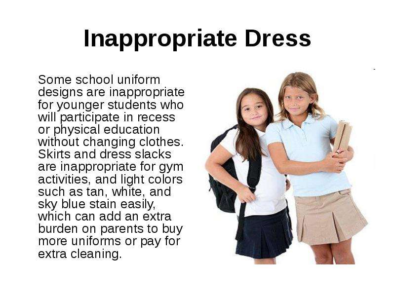 an argument against dresscode and uniform in schools