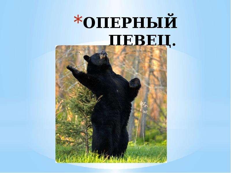 ОПЕРНЫЙ ПЕВЕЦ.