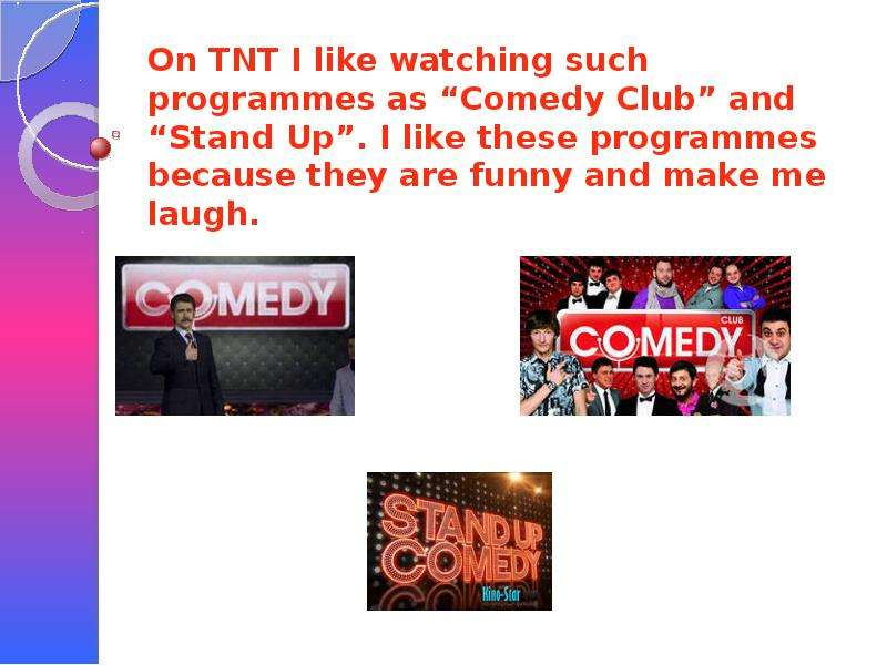 my favourite tv programmes