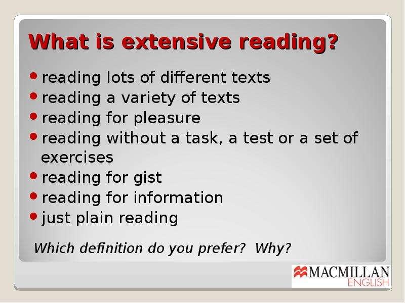 extensive reading 2 essay