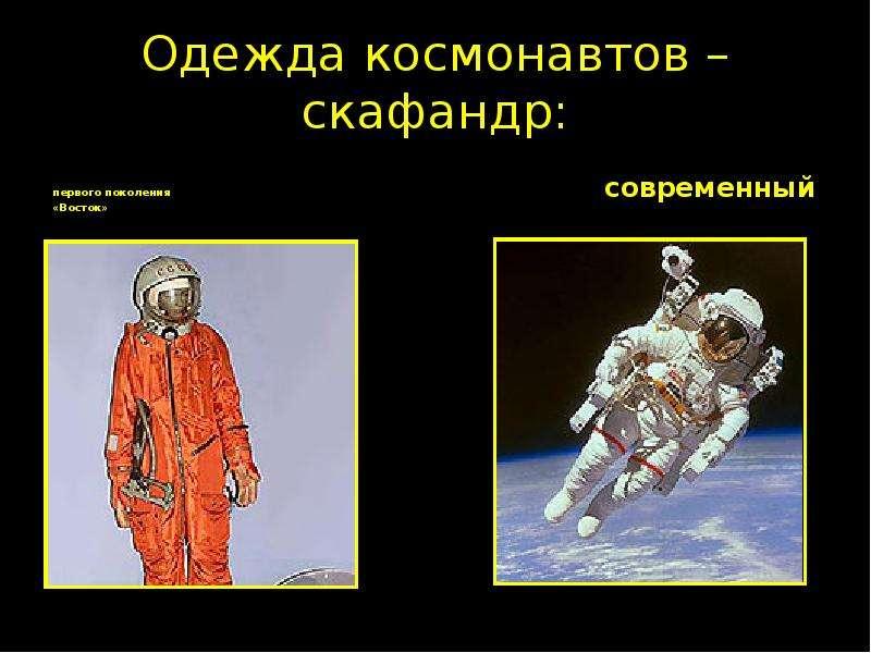 Одежда Космонавтов