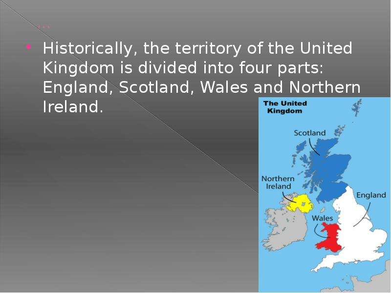 the united kingdom divided How can the answer be improved.