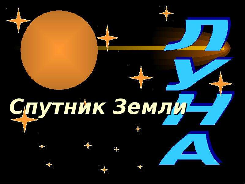 Спутник Земли. Луна - презентация по Астрономии