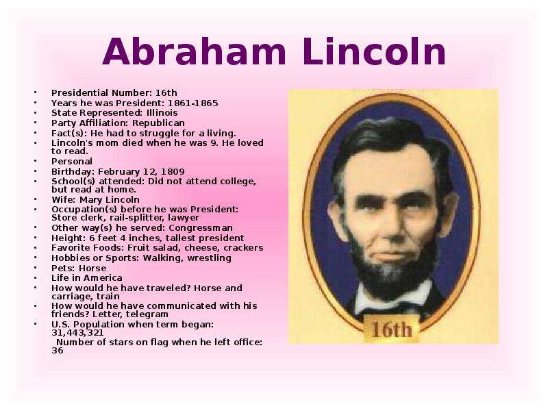 abraham lincoln and the struggle for