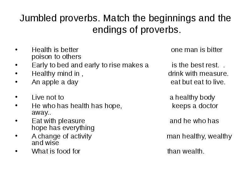 make essay health wealth