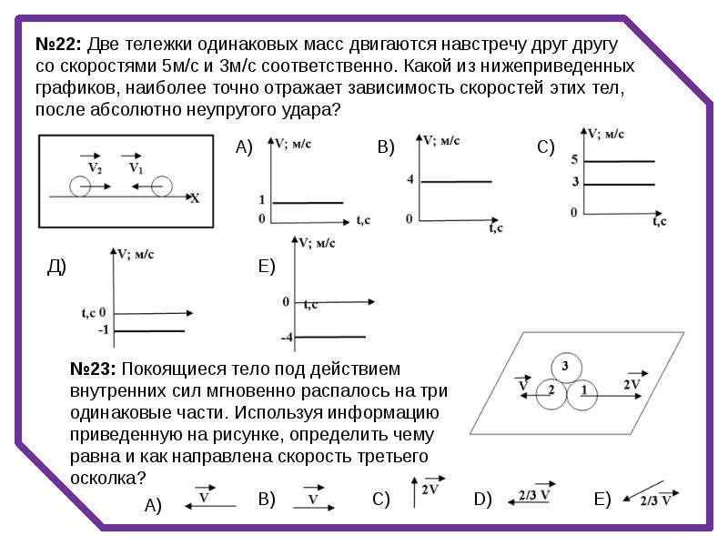 три лодки массы m каждая движутся по инерции друг за другом