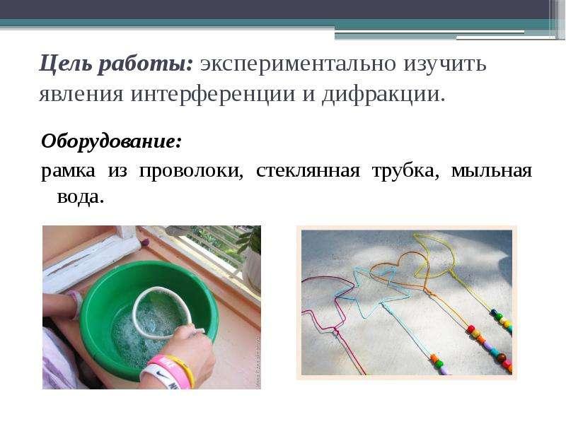 Лабораторная работа по физике 11 класс наблюдение интерференции и дифракции света решение