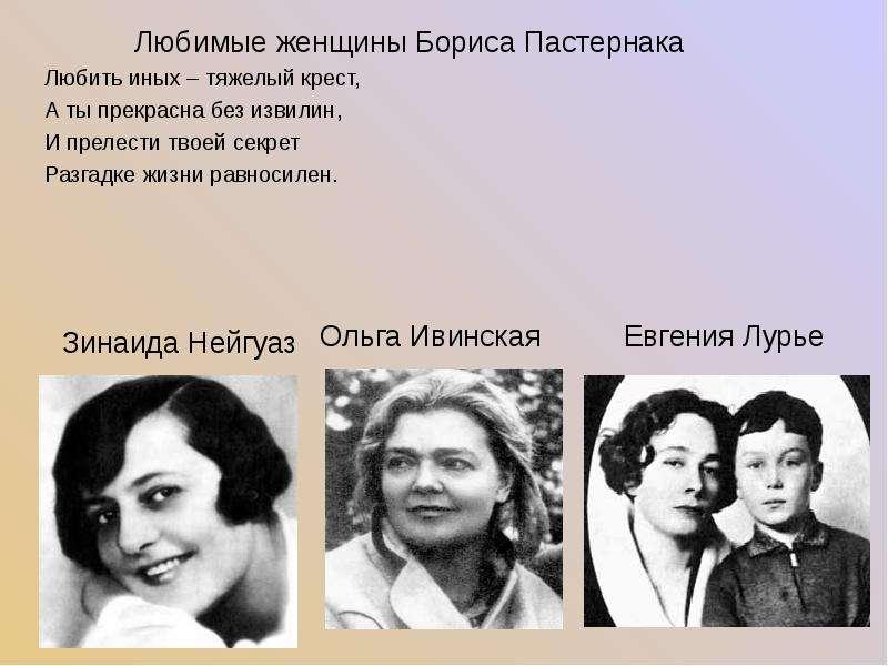Ольга Ивинская Евгения Лурье Ольга Ивинская Евгения Лурье