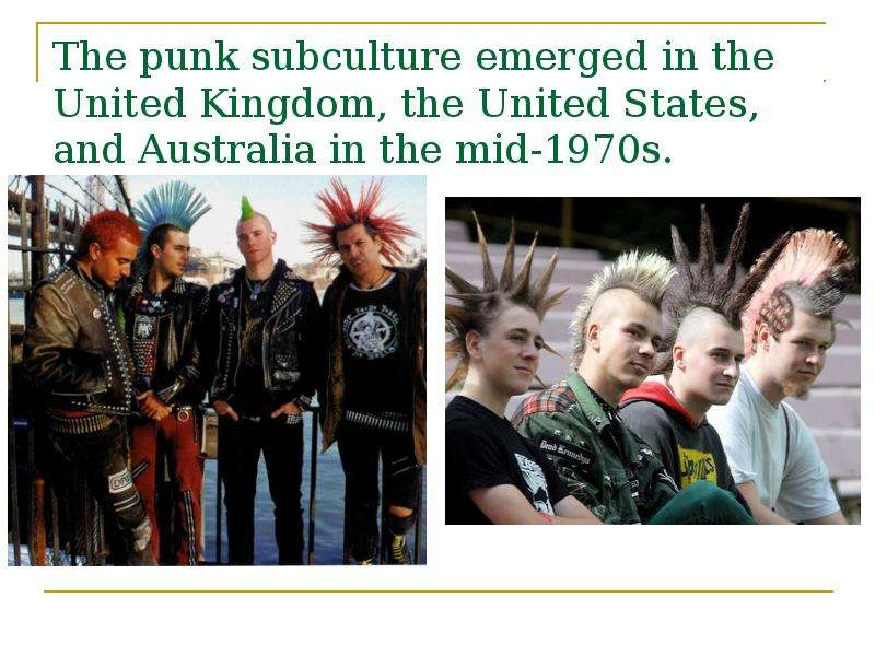 the origin and history of punk rock in the united states Glam rock: glam rock in the united states glam gained a harder edge with the proto-punk stylings of the new york dolls and the glitzy hard rock of kiss and alice cooper by the 1980s.