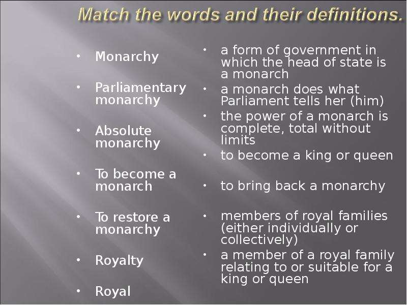 compare and contrast - absolute and parliamentary monarchy essay Absolute monarchy is the form of government which can be characterized by there are parliamentary monarchy, dualistic compare and contrast mesopotamia.