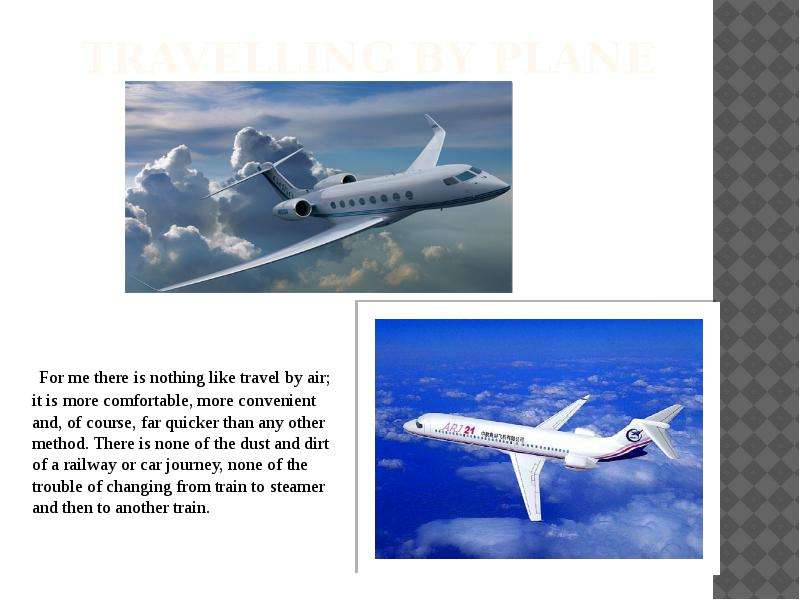 advantages and disadvantages of air travelling