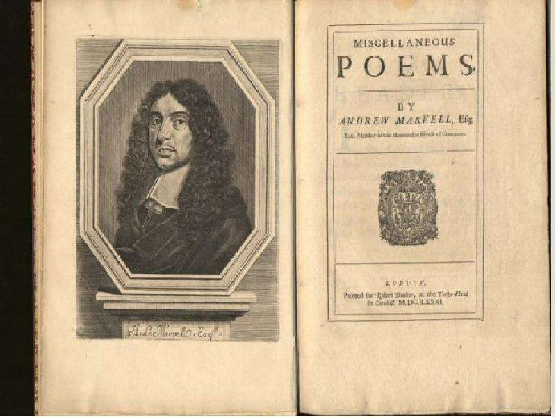comparing and contrasting the poets andrew marvell and john donne Compare and contrast donne's a valediction: forbidding mourning and marvell's to his coy mistress, also include the idea of metaphysical poetry in the comparison.
