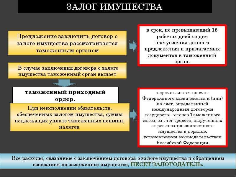 Обеспечение уплаты таможенных пошлин, налогов Подготовила: Лепичева Наталия, слайд 13