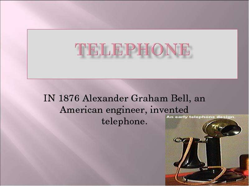 the early life inventions and influence of alexander graham bell Alexander graham bell many other inventions marked bell's later life from his early years, bell showed a sensitive nature and a talent for art.