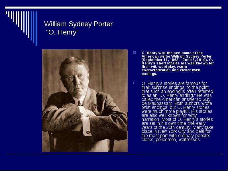 henry felols biography