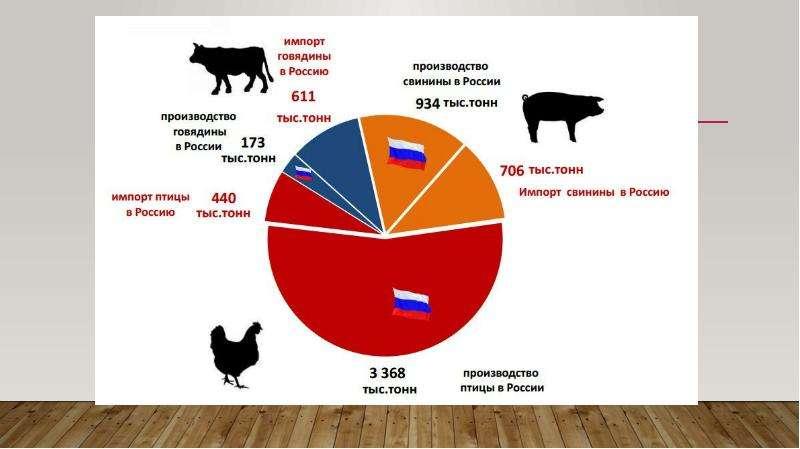 Исследование рынка производства продуктов из мяса птицы, слайд 5