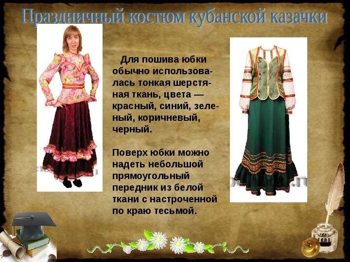 Одежда Кубани