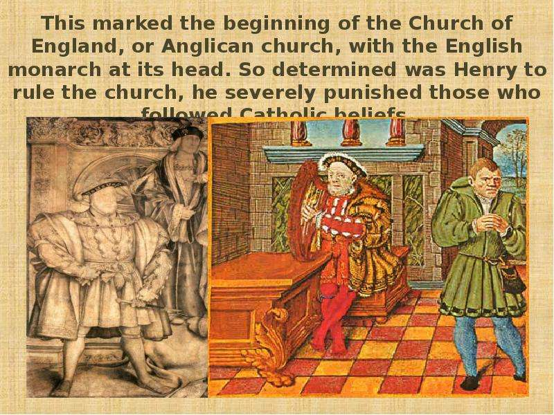the consequences of henry viiis break with the roman catholic church Henry viii was a roman catholic and the head of this church was the pope based in romethe easy solution for this problem was to get a divorce and he secretly married henry and anne in january of 1533.