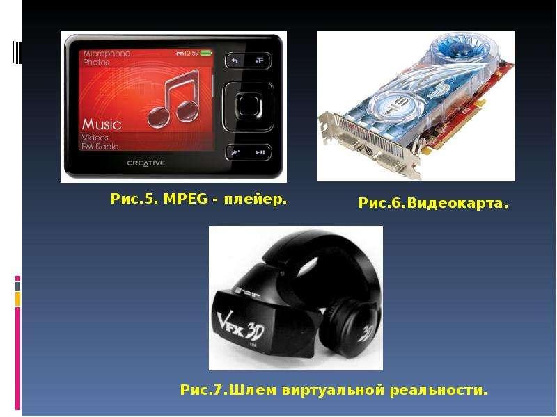 Программные и аппаратные средства поддержки мультимедиа Выполнил студент гру, слайд 6