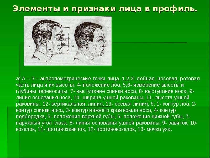 вопрос, криминалистическое исследование внешних признаков человека габитоскопия загранпаспорт старого