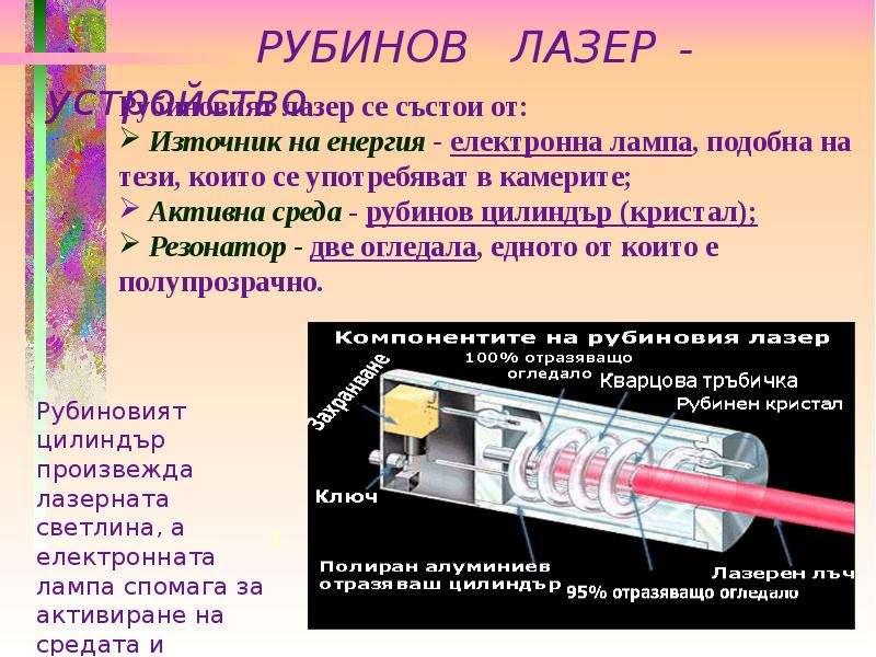 ЛУМИНЕСЦЕНТНИ И ЛАЗЕРНИ ИЗТОЧНИЦИ НА СВЕТЛИНА УРОК, слайд 12