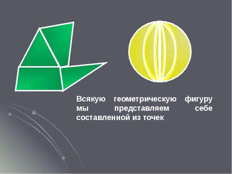 Основные свойства простейших геометрических фигур, слайд 3