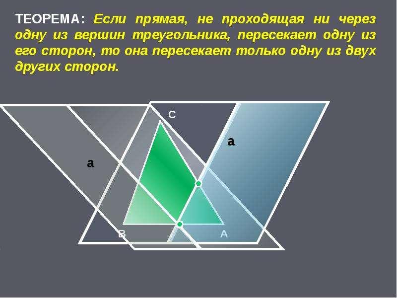 Основные свойства простейших геометрических фигур, слайд 30