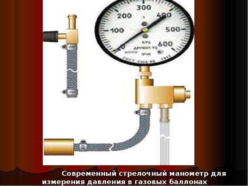 давление газа в котельных