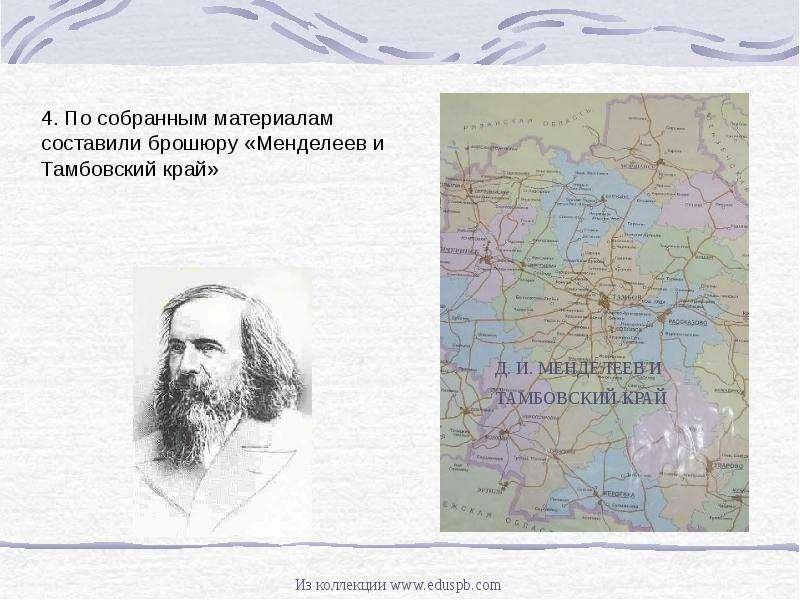 Д. И. МЕНДЕЛЕЕВ И ТАМБОВСКИЙ КРАЙ, рис. 11