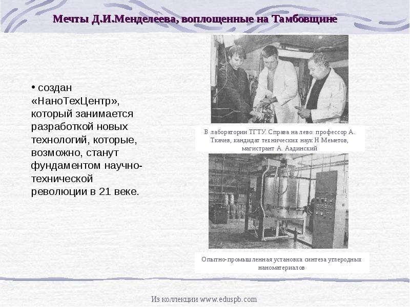Д. И. МЕНДЕЛЕЕВ И ТАМБОВСКИЙ КРАЙ, рис. 9