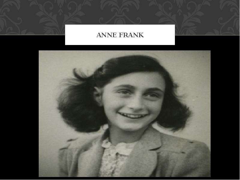 evaluation on anne frank Students use the provided online resources to learn about the life of anne frank and the diary in which she chronicled her family's years in hiding evaluation.