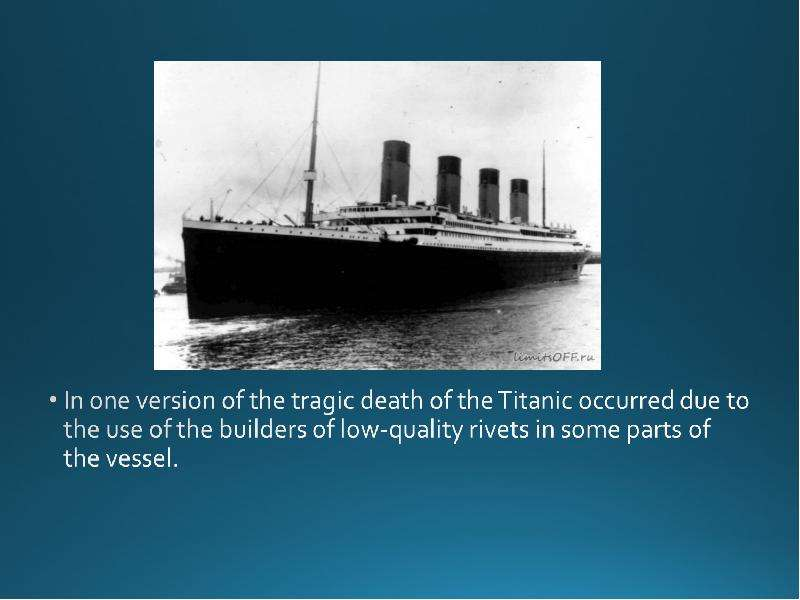 a history of titanics tragedy Having the titanic sink, changed american history today we wouldn't have the laws we do with out the titanic's mis hap the laws changed our thoughts on safety and our thoughts on public transportation in general.