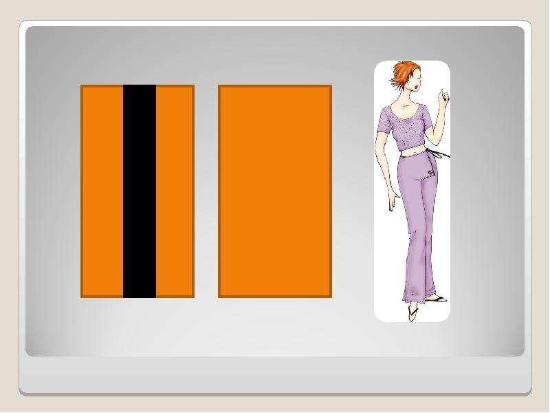 ПЛАН УРОКА: Повторение темы предыдущего урока Введение в новый материал Типы иллюзий ЗРИТЕЛЬНЫЕ ИЛЛЮЗИИ В ОДЕЖДЕ: Иллюзия перео, слайд 12