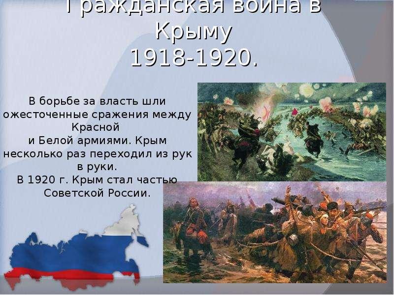 Гражданская война в Крыму 1918-1920.