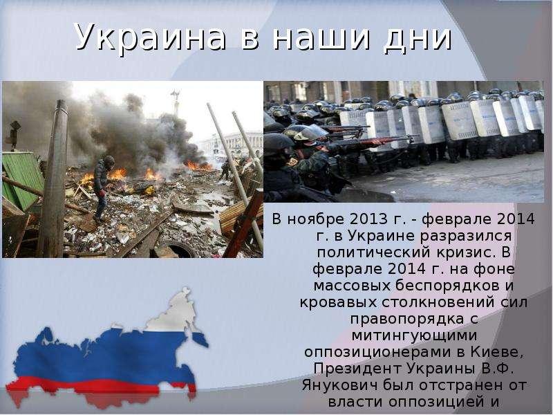 Украина в наши дни