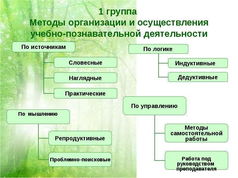 Методы, приемы, средства организации и управления педагогическим процессом Лекция 7 - скачать презентацию