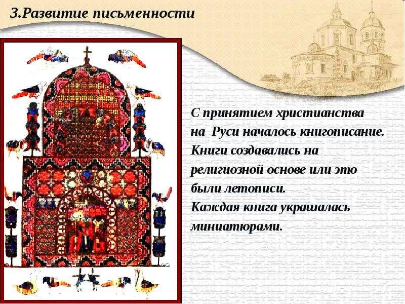 Значение христианства киевской руси : Коллекция иллюстраций