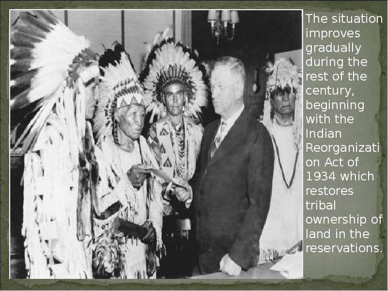 the benefits of the indian reorganization act of 1934 for native americans