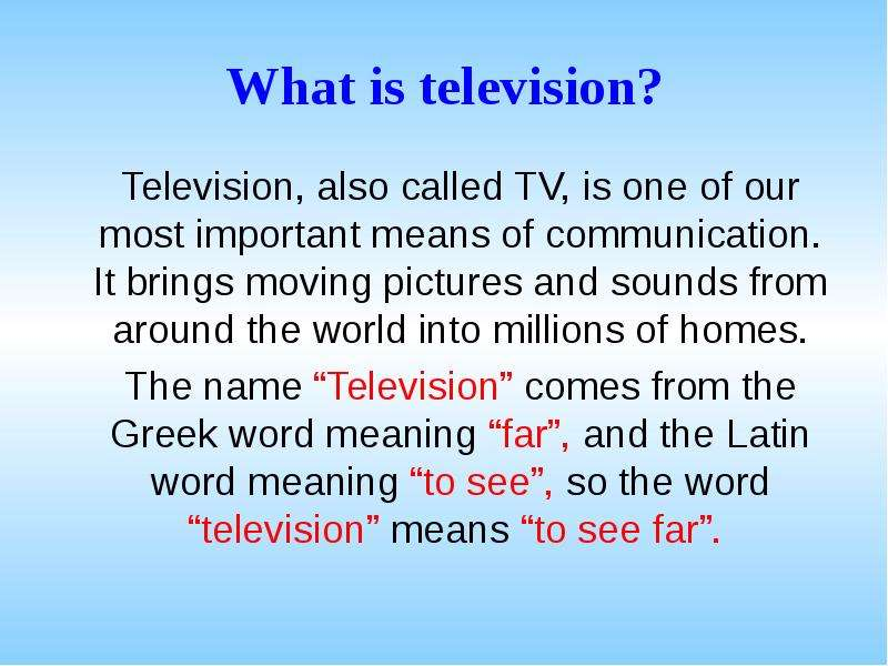 advantages of tv in sports Get an answer for 'what are the disadvantages and advantages of sports(eg fame/overcompetitiveness) please list examples and detailed explaination tooif you could please also included useful website that i can refer too' and find homework help for other social sciences questions at enotes.
