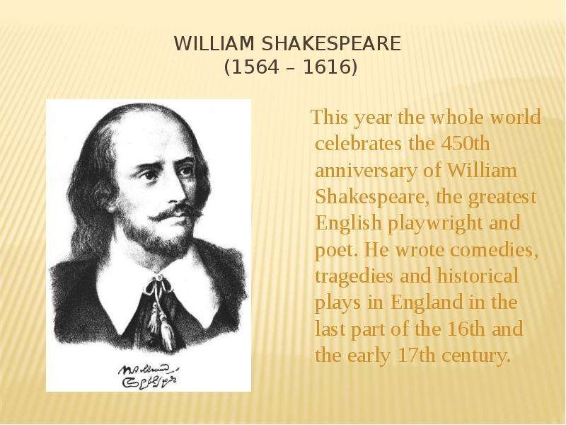 an analysis of william shakespeare as a great english playwright William shakespeare- sonnet 29 analysis i read the poem titled sonnet 29 by william shakespeare some background on william shakespeare is that he was an english poet and writer who was born.