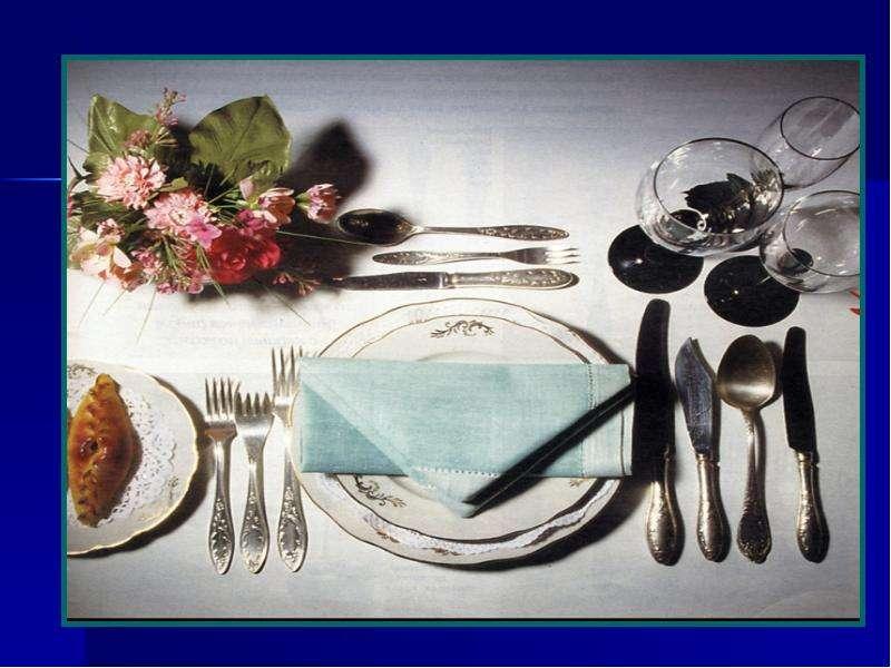 Посуда для завтрака Сервировка стола., рис. 15