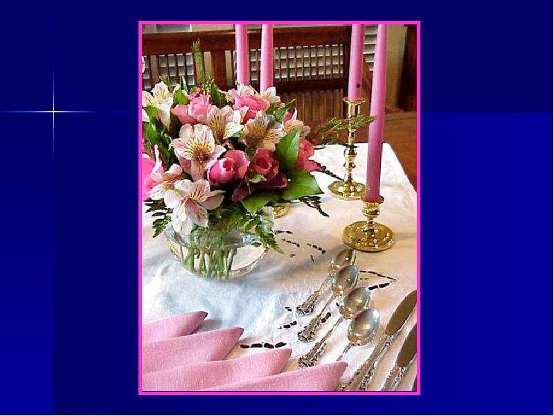 Посуда для завтрака Сервировка стола., рис. 16