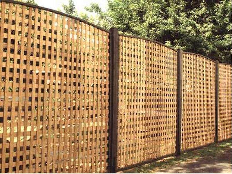 Высокий забор своими руками