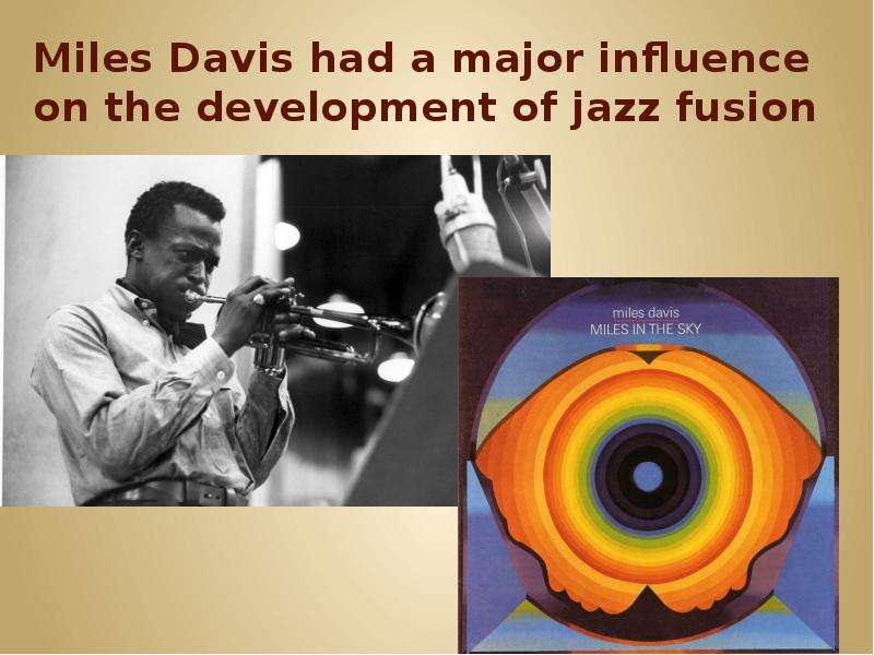 miles davis as the influence of