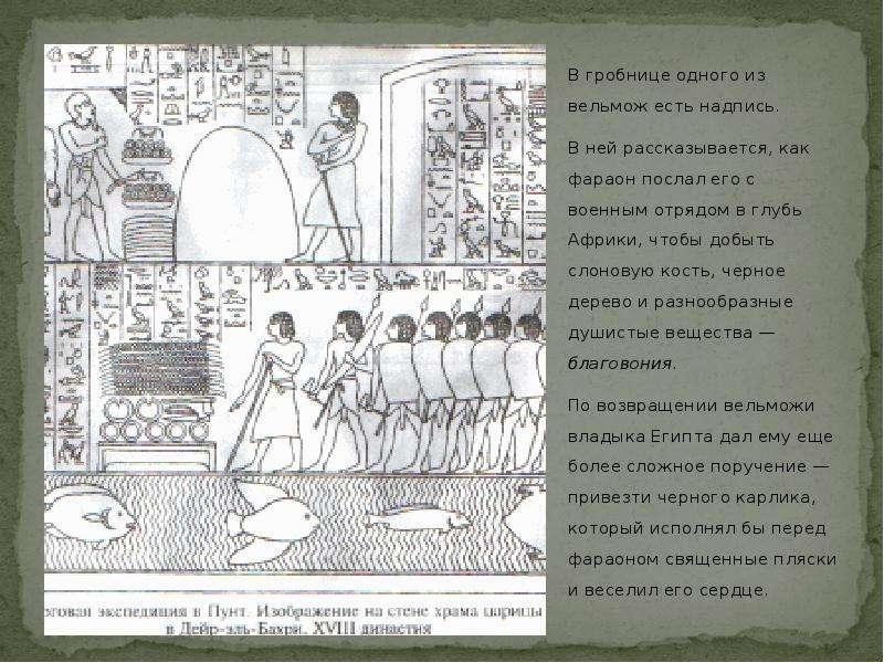 В гробнице одного из вельмож есть надпись. В гробнице одного из вельмож есть надпись. В ней рассказы