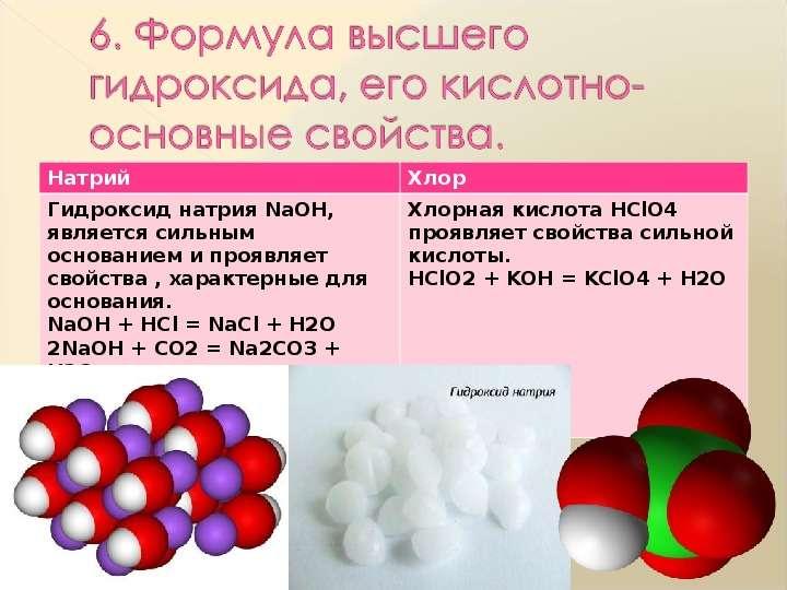 Характеристика химического элемента на основании его положения в Периодической системе Д. И. Менделеева, слайд 8