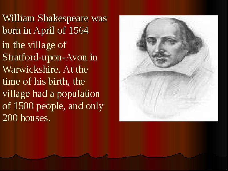 biography of william shakespeare 3 essay