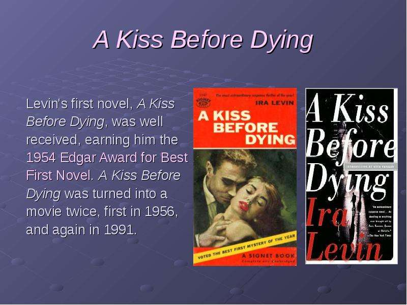 A Kiss Before Dying 1991 Full Movie  YouTube